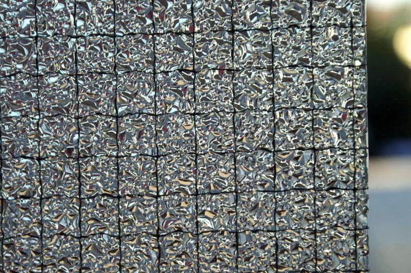 Drahtornamentglas 521 weiß (WATERDROP 036/000)