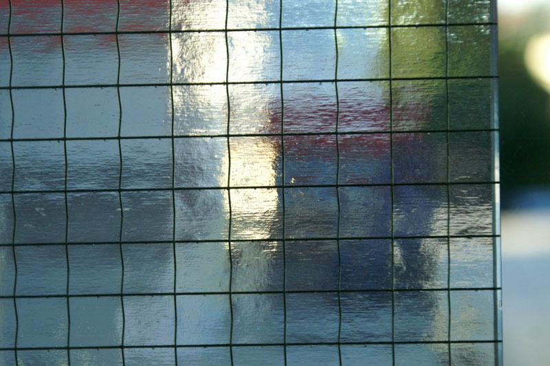 Drahtglas weiß (WIRED 1/2 037/000)