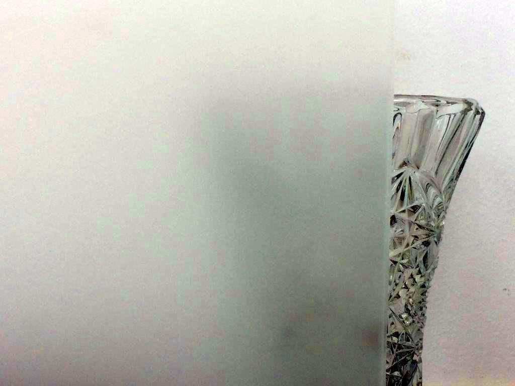 Weissglas beidseitig satiniert